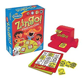 Think Fun - Zingo - Bingo With A Zing  Age 4+