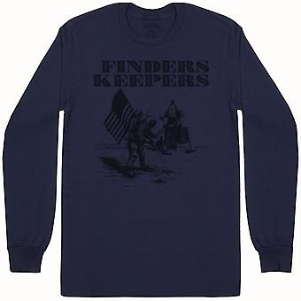 Finders Keepers-Herre langærmet T-shirt
