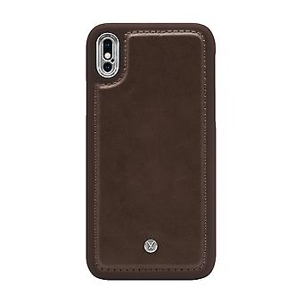 Marvêlle iPhone Xs Max Magnetic Case Dark Brown Basic