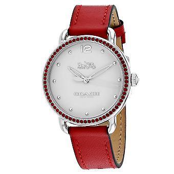 Coach Frauen's Delancey White Dial Uhr - 14502878