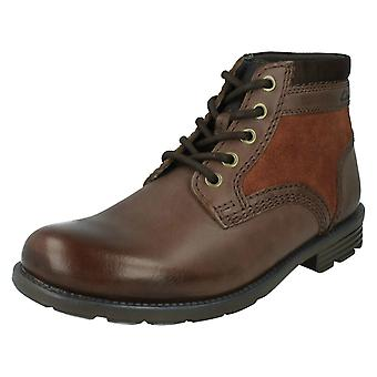 Men's Clarks Casual Ankle Boots Darian Mid