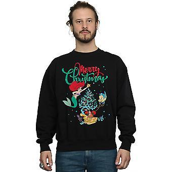 Disney mænd ' s prinsesse Ariel glædelig jul sweatshirt