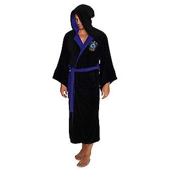 Harry Potter Ravenclaw con capucha estubar poliéster negro un tamaño