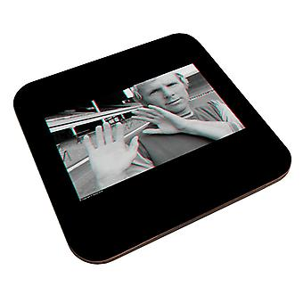 TV Times Bobby Moore-3D Effect Coaster