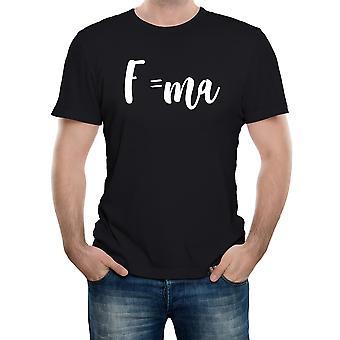 Reality svikt Newton ' s lov av bevegelse ligningen menns t-skjorte