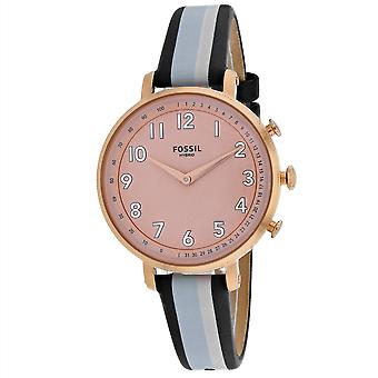 Fossil Women's Pink Dial Watch - FTW5051