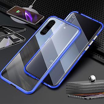 For Xiaomi Redmi Note 8 Magnet / Metal / Glass Case Bumper Transparent / Blue Case Case New