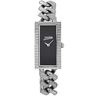 Montre Jean-Paul Gaultier 8506301 - Bo�tier Acier Argent� Bracelet Acier Argent� Cadran Noir Femme