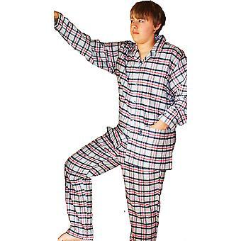 Pánské JOCKEY kartáčované bavlněné pyžamo 52301