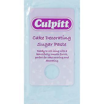 Culpitt cake versieren Sugar paste licht blauw 8 X 250g