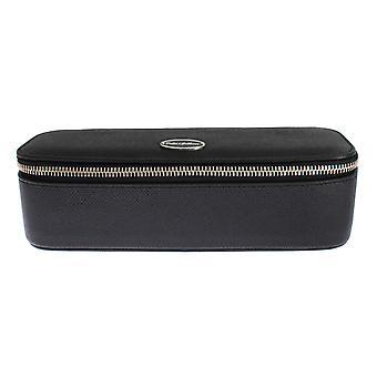 Dolce & Gabbana zwart lederen sieraden zonnebril case bag organisator