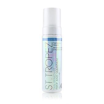 St. Tropez Prep & Maintain Tan Remover Mousse - Remove Mistakes Erase & Prime (suitable For Sensitive Skin) - 200ml/6.7oz