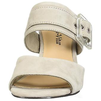 Bella Vita Women's Tory Dress Sandal Shoe, Stone Kidsuede Leather, 8 N US