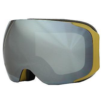 Aphex SKI máscara OTG Kepler mostaza Mat Plata 2 pantallas