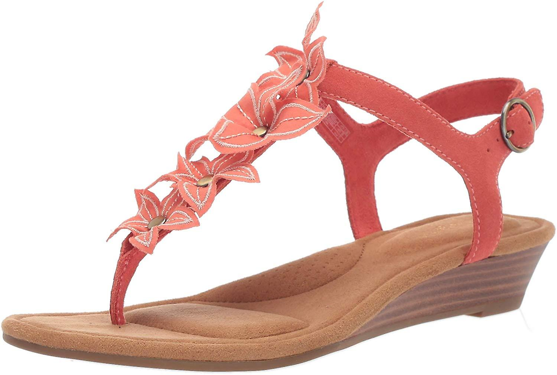 Koolaburra od UGG Women's Arely Heeled Sandal żar blask 05 B USA 806PP