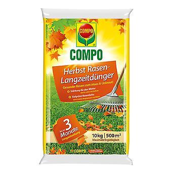 COMPO Autumn Lawn fertilizzante con effetto a lungo termine, 10 kg
