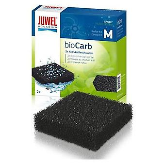 Juwel Carbon Sponge Biocard M (Vissen , Filters en waterpompen , Filter materiaal)