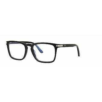 Cartier C Décor CT0019O 007 Black Glasses