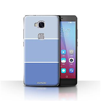 STUFF4 Case/Cover for Huawei Honor 5X/GR5/Blue/Pastel Colour Tones
