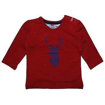 Beebielove Αγόρια Κόκκινο T-shirt Ελάφι