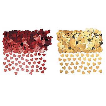 Amscan Sparkle Hearts Confetti