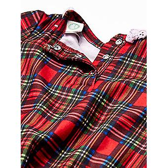 Little Me Baby Girl's Xmas Plaid Pajamas Sleepwear,, Plaid, Size 18 Months
