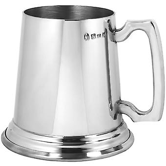 The Traditional Heavy Gauge Pewter Tankard - 1 Pint +