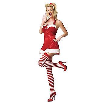Pequena Fantasia de Papai Noel para mulheres
