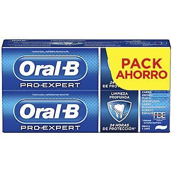 Oral B Pro-Expert Deep Cleaning Toothpaste 2X75 ml