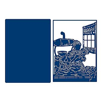 Tattered Lace Kitchen Tapestry Die Set