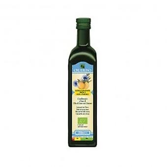 Crudigno - Cold Pressed Flax Seed Oil With Lemon 250ml