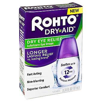 Rohto dry-aid eye drops, 0.34 oz
