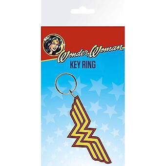 DC Comics Wonder Woman Logo Rubber Sleutelhanger