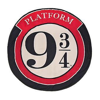 Harry Potter Platform 9 3/4 Round Towel