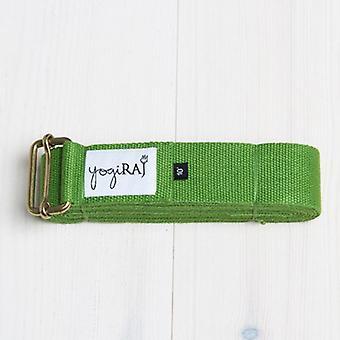 Yoga bælte, standard længde (244 cm) - Yogiraj