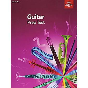 Guitar Prep Test 2019 by ABRSM - 9781786011077 Book