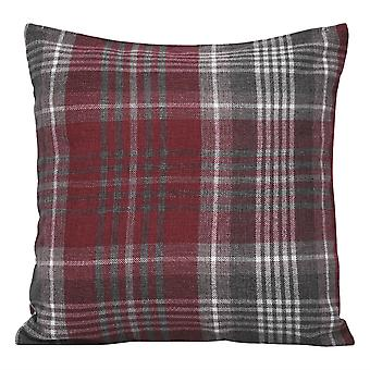 Plaid pillowcase Polyester square pillowcase for sofa and bed 45x45cm