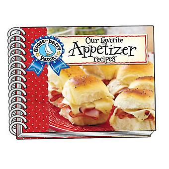 Our Favorite Appetizer Recipes with Photo Cover by Gooseberry Patch -