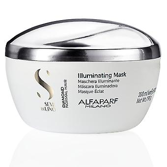 Alfaparf Semi Di Lino Diamond Illuminating Mask 200 Ml Unisex