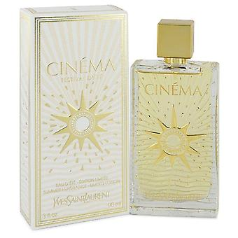 Cinema Summer Fragrance Eau D'Ete Spray By Yves Saint Laurent 3 oz Summer Fragrance Eau D'Ete Spray