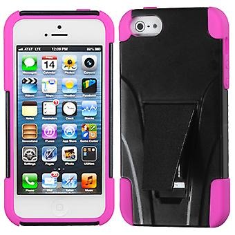 Custodia Asmyna Inverse Armor Stand per Apple iPhone 5/5S - Hot Pink