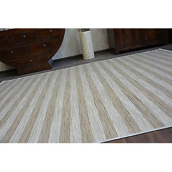 Rug DOUBLE 29203/750 STRIPES brown/beige double-sided