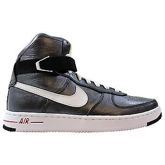 Nike Air Feather Hi Premium Svart/vit-sport Röd 395751-001 Kvinnor's