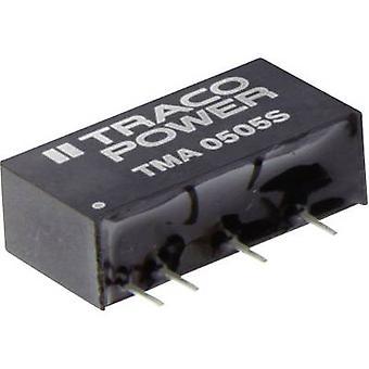 TracoPower TMA 1515S DC / DC محول (الطباعة) 15 V DC 15 V DC 65 mA 1 W No. من النواتج: 1 x