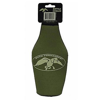 Duck Commander Insulated Bottle Coozie, Olive Green with Zipper #BC-DCOD
