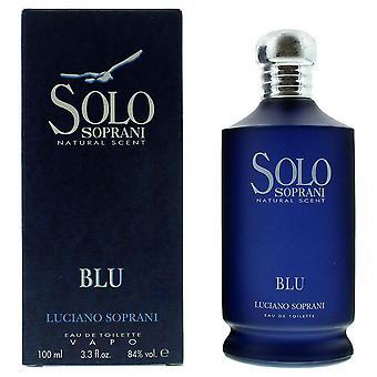 Luciano Soprani Solo Blu Eau de Toilette 100ml Spray For Him