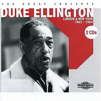 Duke Ellington - fantastiska konserter: London & NY [CD] USA import