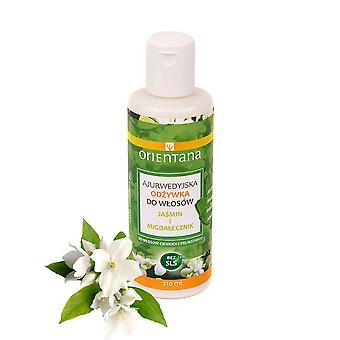 Ayurvedic Hair Conditioner Jasmine & Indian Almond, 210 Ml
