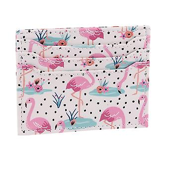 Wild Thoughts Flamingo Card Holder