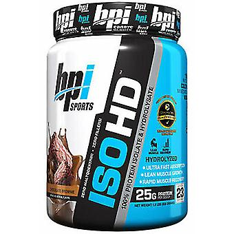 BPI Sports Iso-HD Chocolate Brownie 1.6 pounds